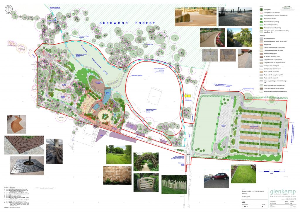 Site Map by Glen Kemp Landscape Architect's