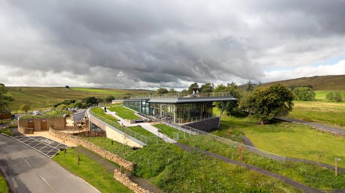 visitors centre in Northumberland National Park