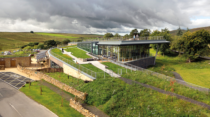 Northumberland National Park Authority's The Sill: National Landscape Discovery Centre, Once Brewed
